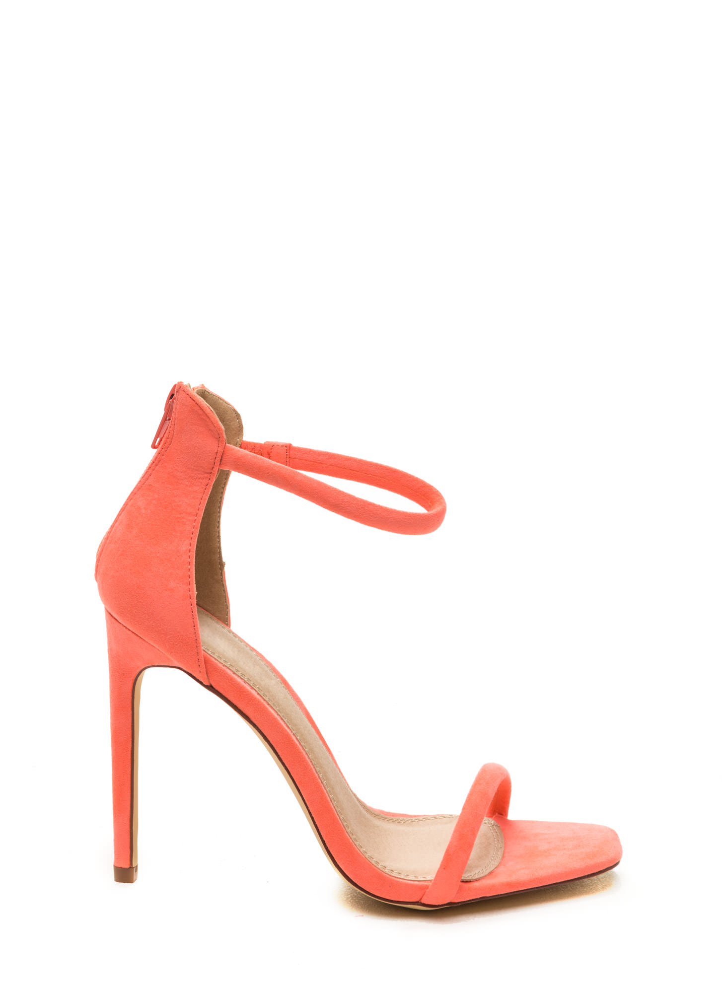 Yellow Ankle Strap Heels - Is Heel