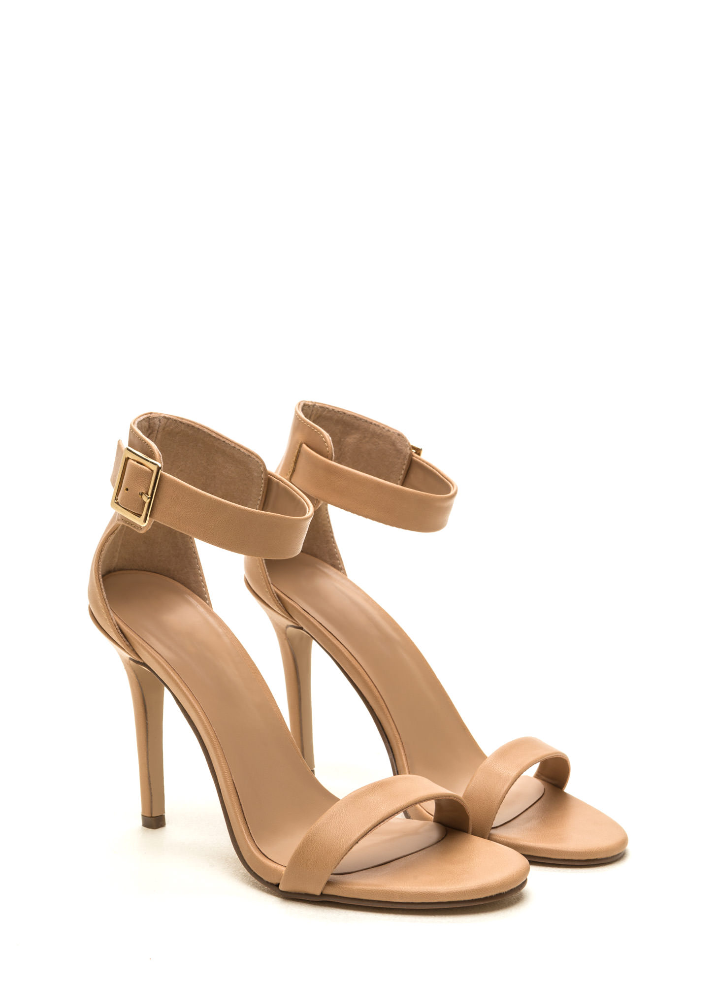 One Way Ticket Single-Sole Heels NATURAL