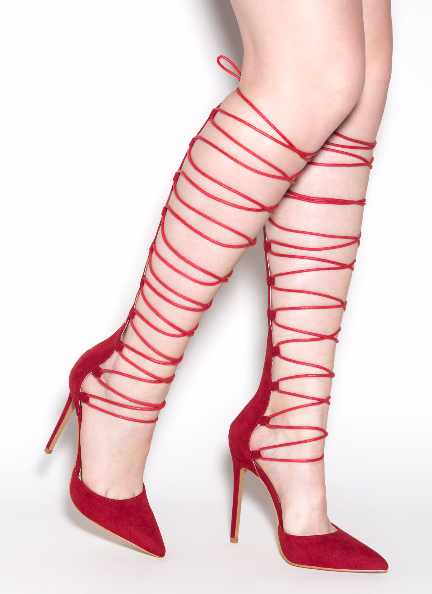 Catcher In The Tie Gladiator Heels RED