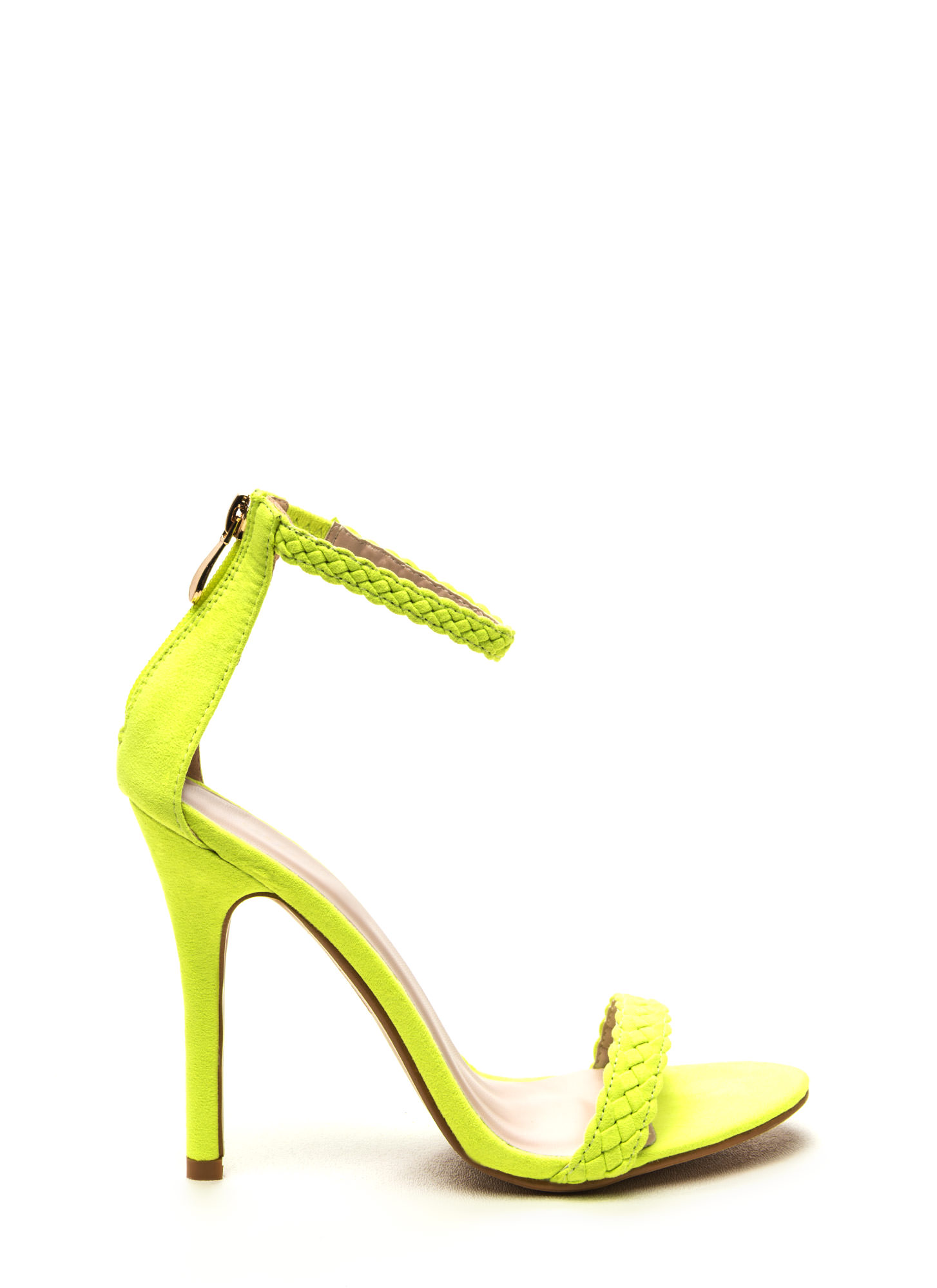 Neon Yellow Green Heels