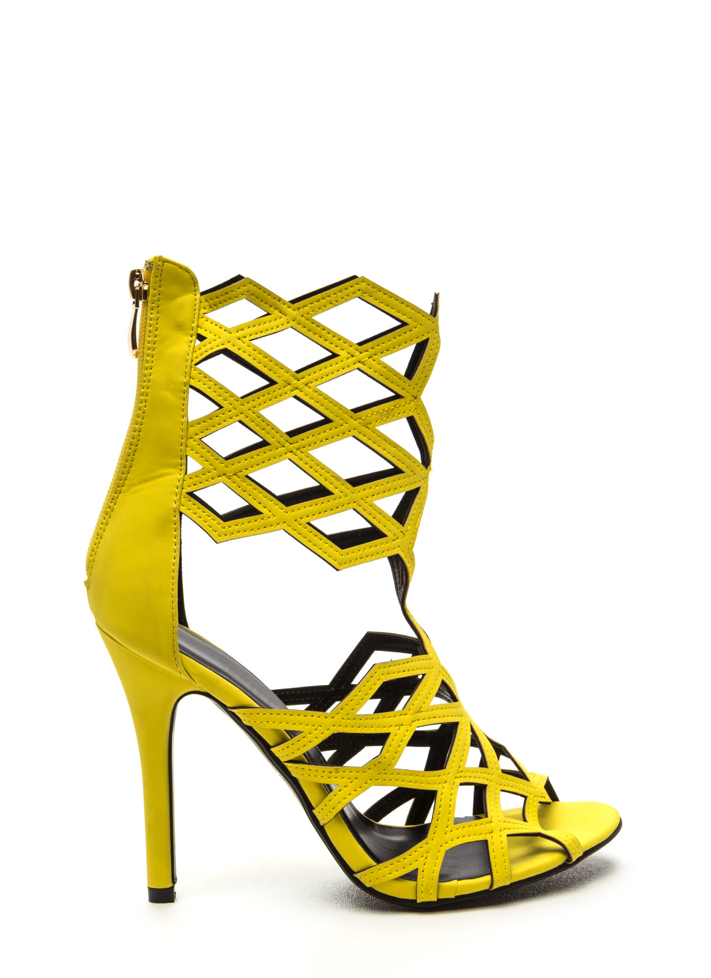 Mustard Yellow Heels - Is Heel