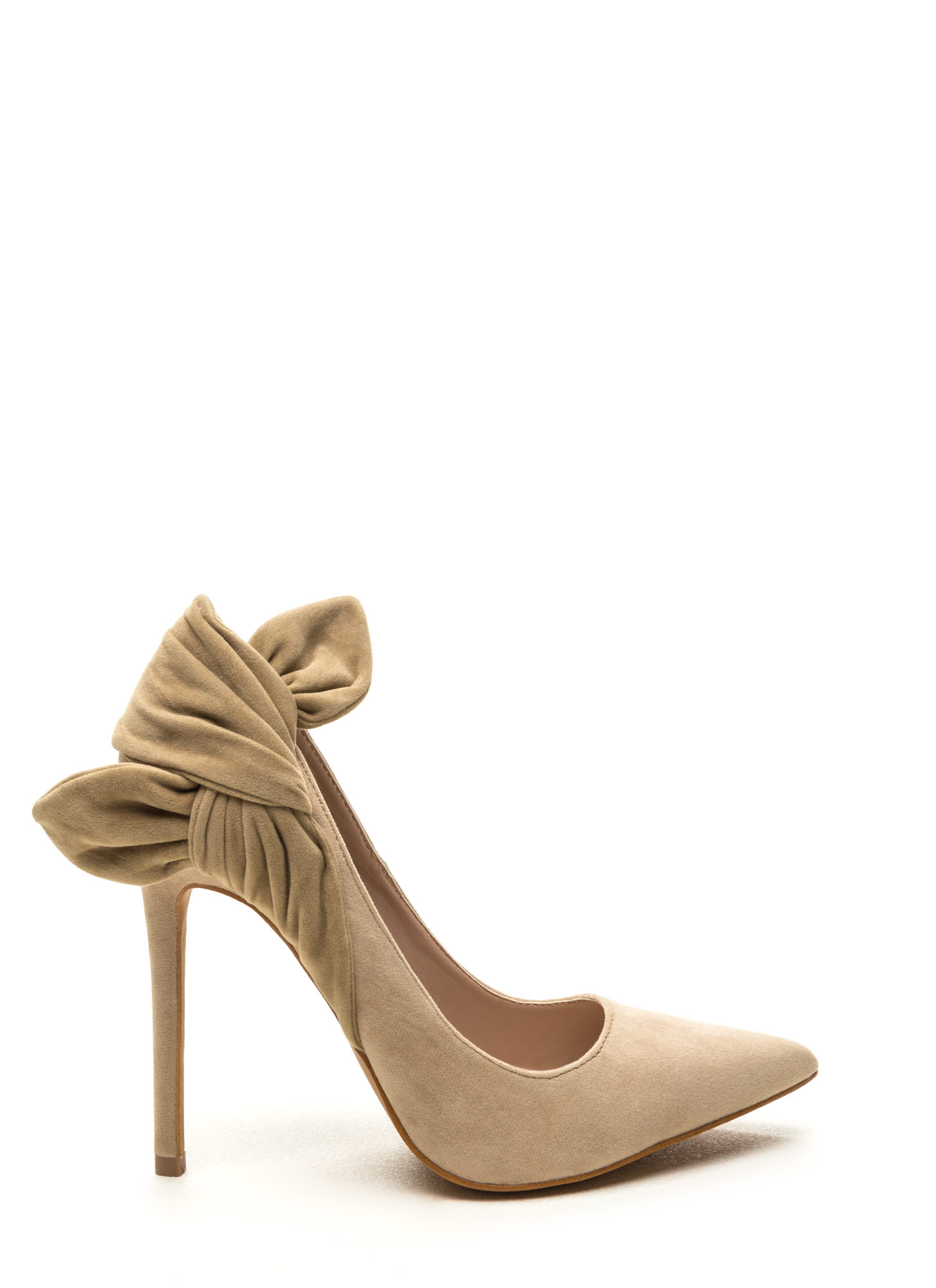Believe It Or Knot Pointy Heels NUDE