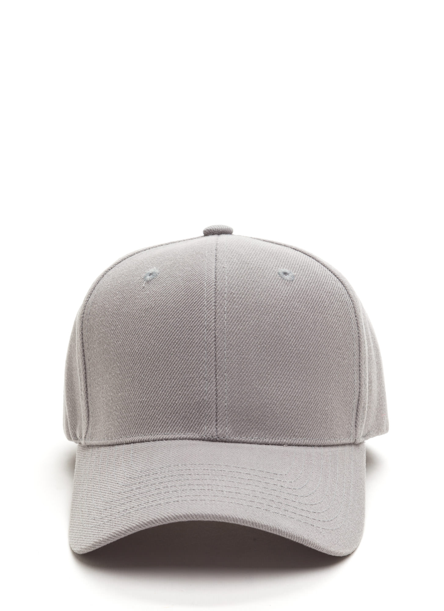 Top It Off Baseball Cap LTGREY