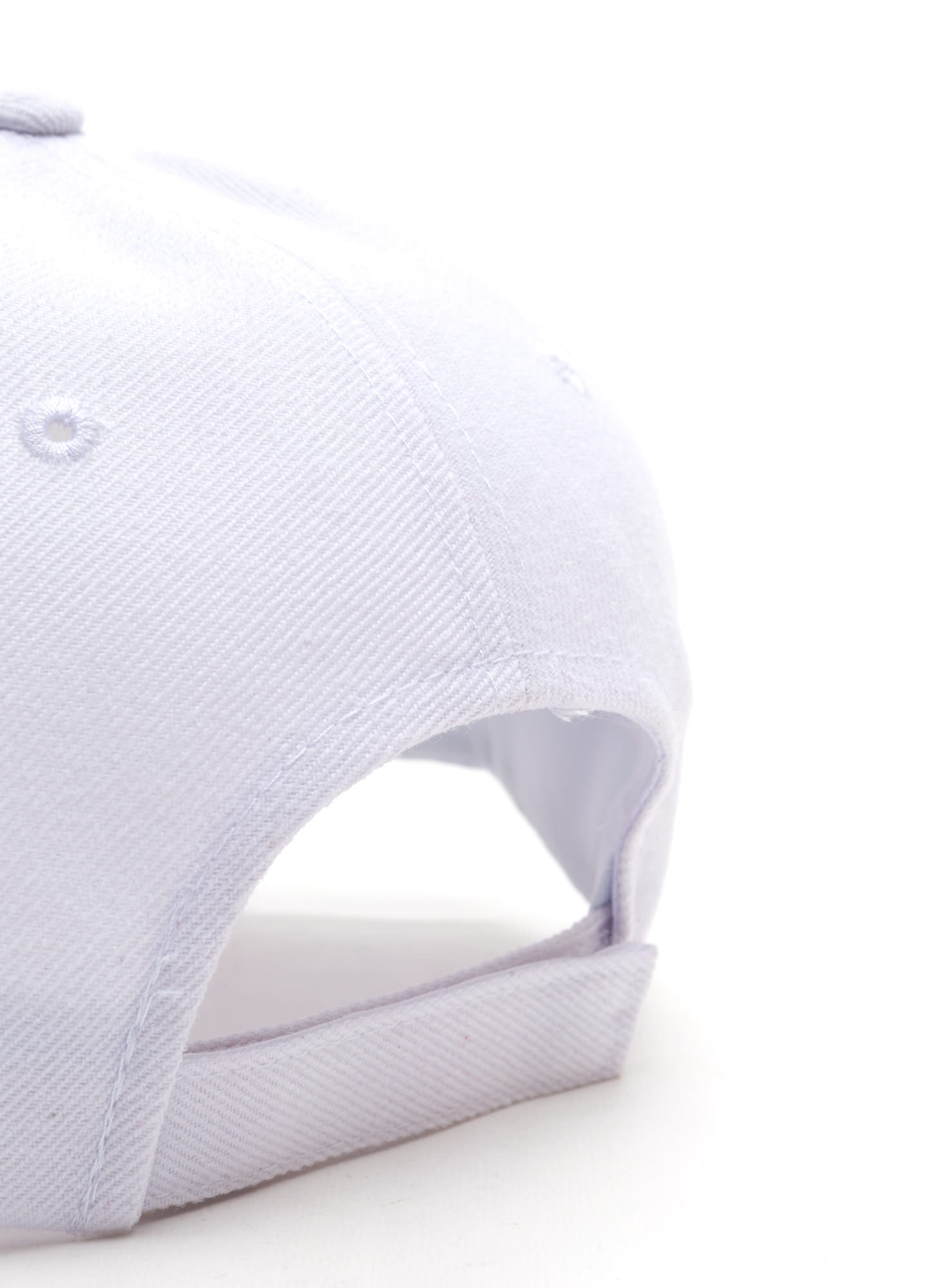Top It Off Baseball Cap WHITE