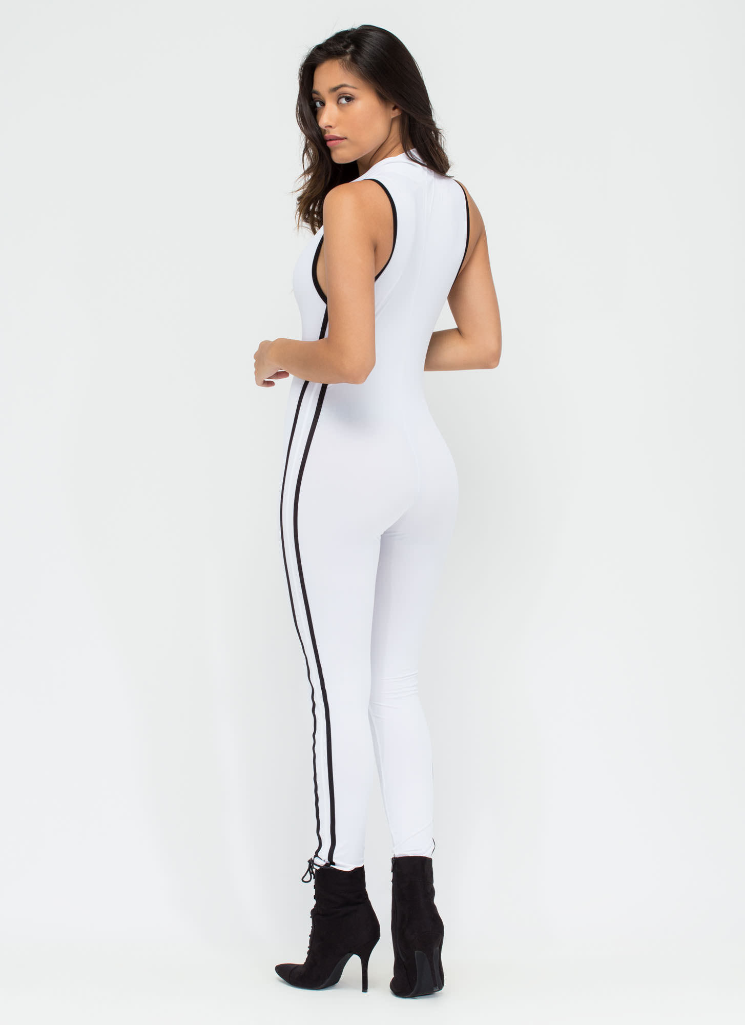 Speed Zone Jumpsuit WHITE
