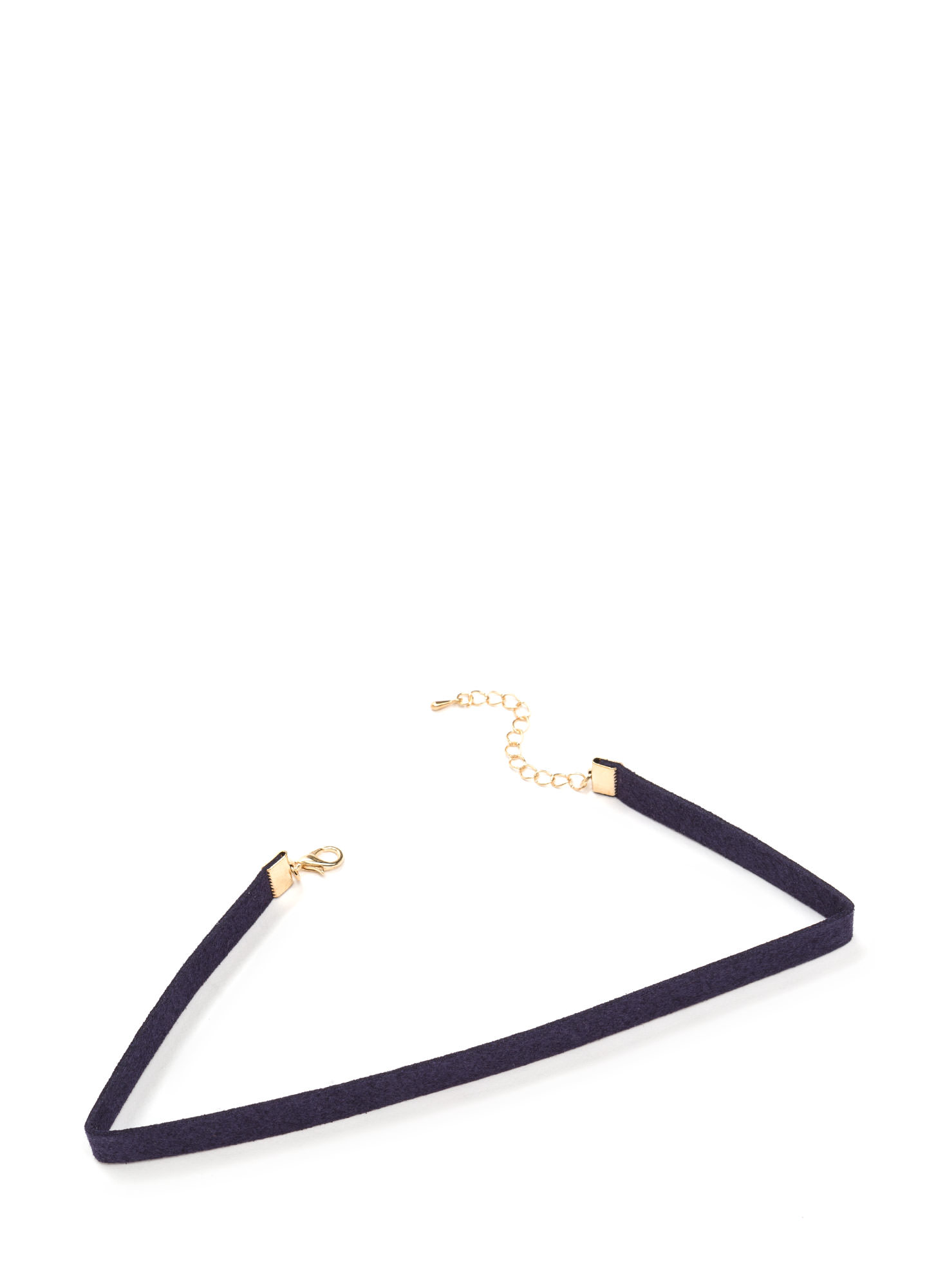 She's All That Faux Suede Choker NAVY