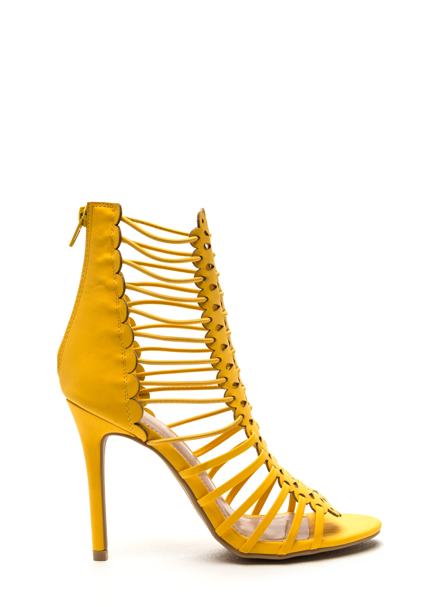yellow mustard heels is heel