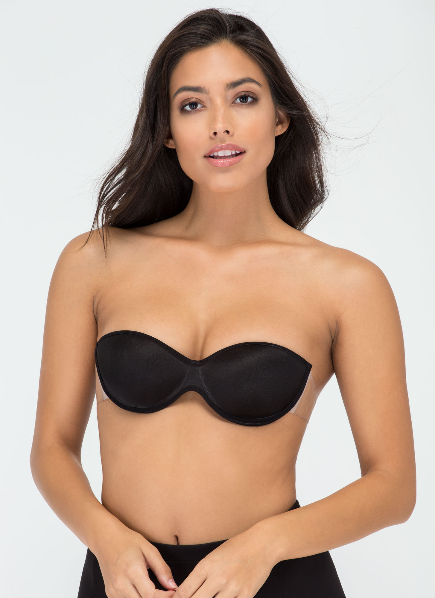 Love Your Body Backless Adhesive Bra BLACK (Final Sale)