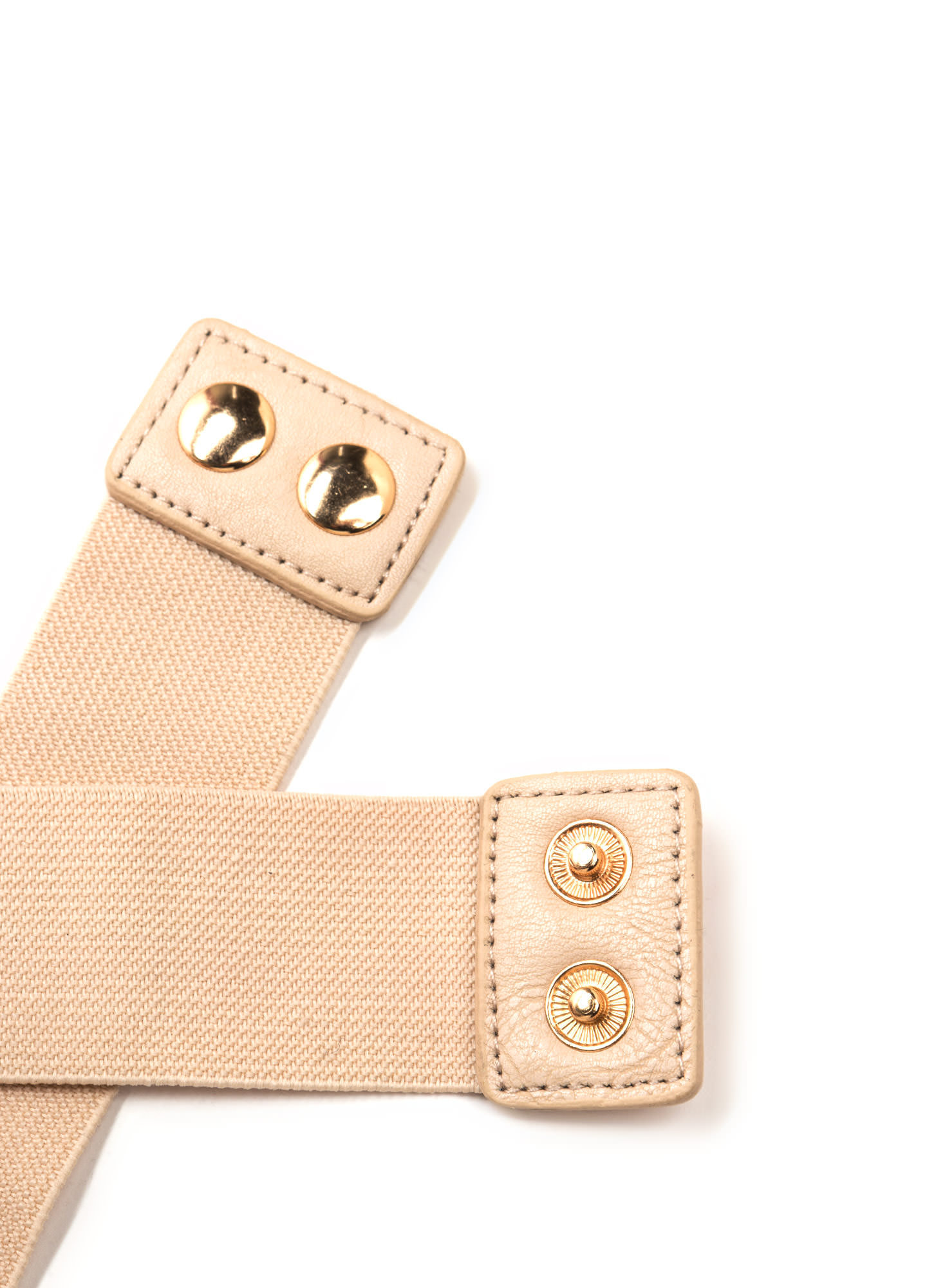 Your X Called Stretchy Belt BEIGE