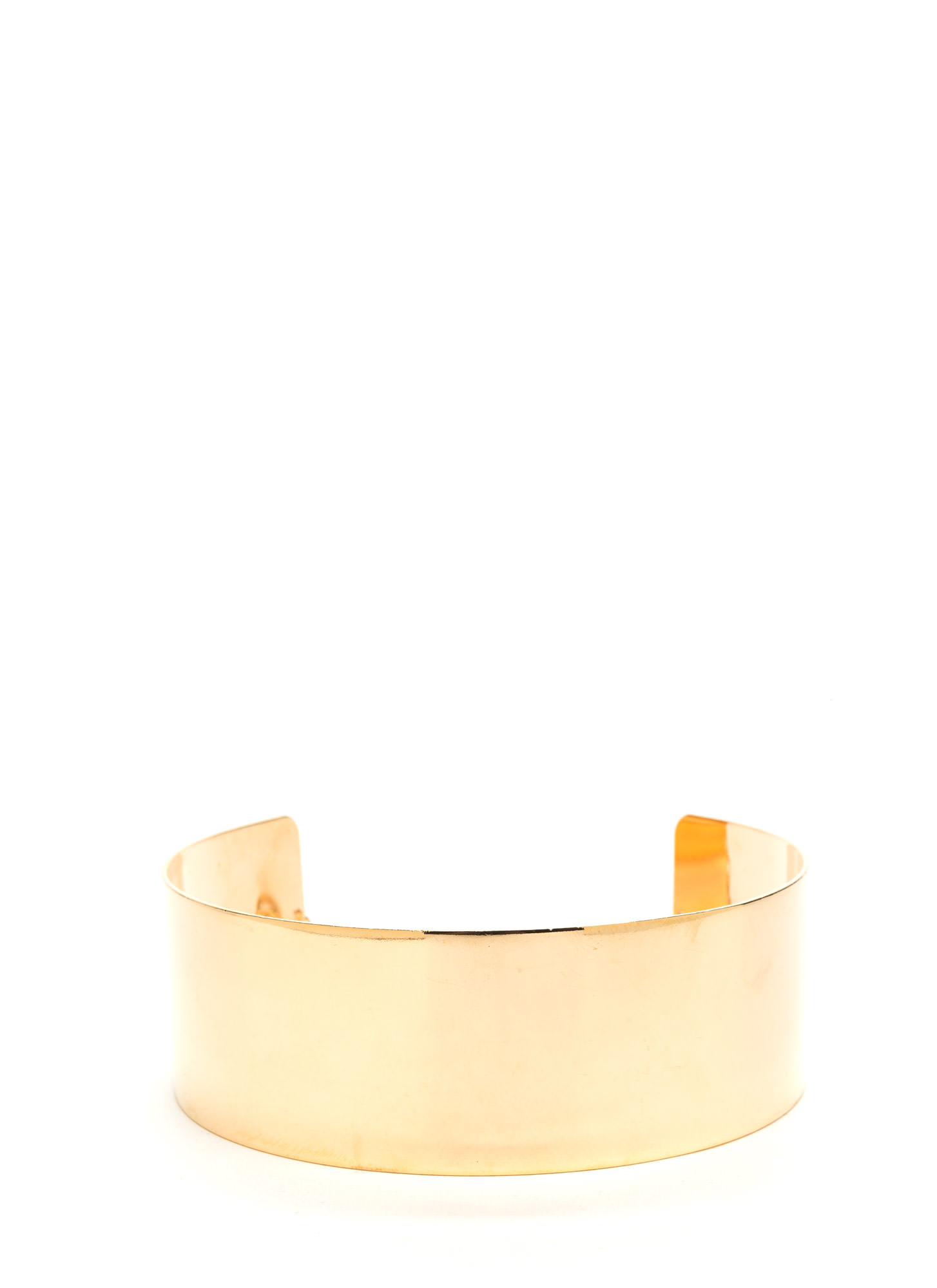 Whole Wide World Collar Choker GOLD