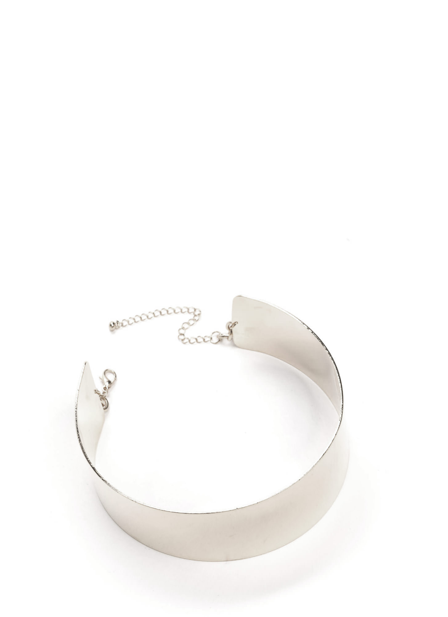 Whole Wide World Collar Choker SILVER