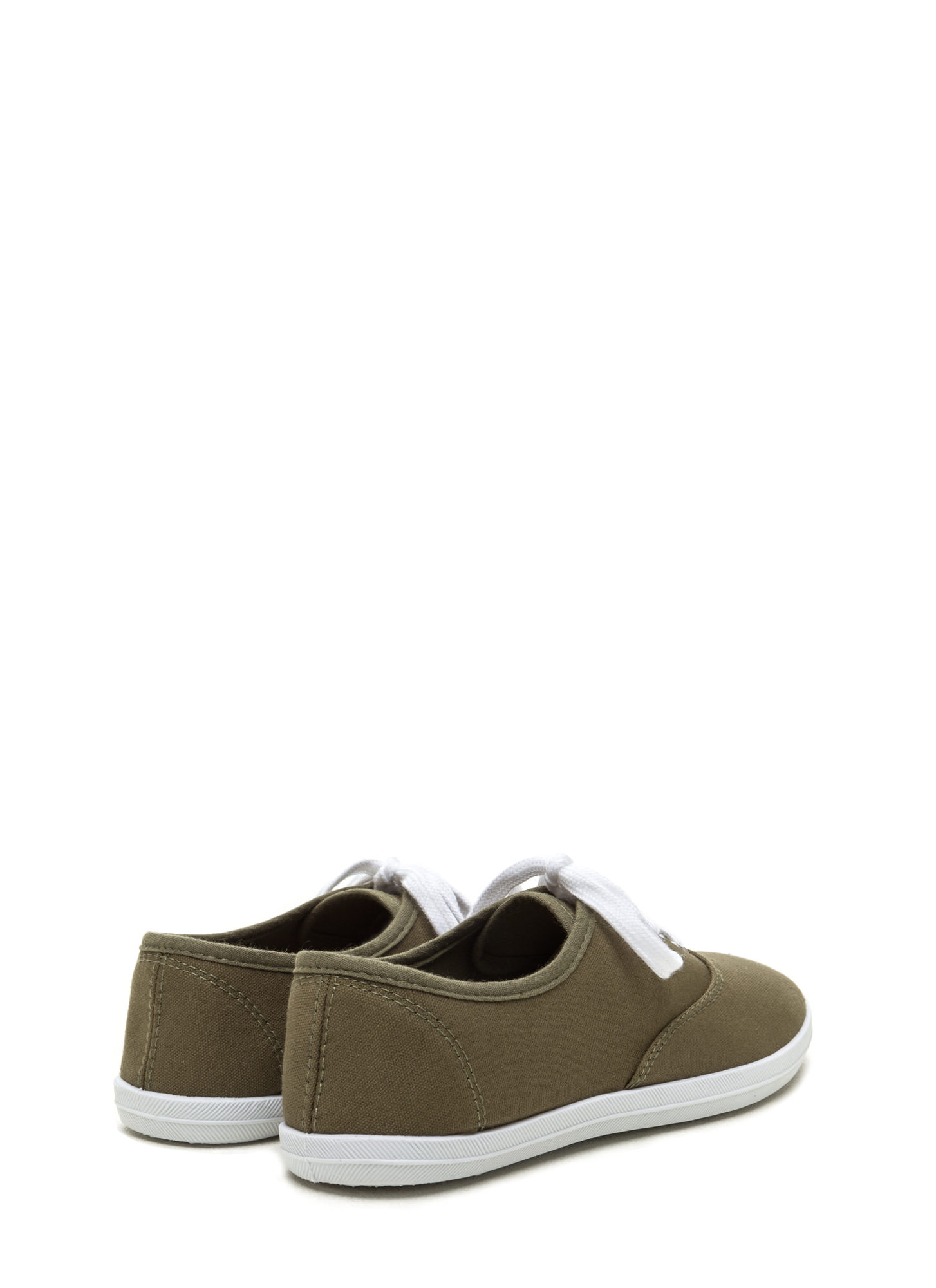 Sneaks Attack Canvas Sneakers OLIVE