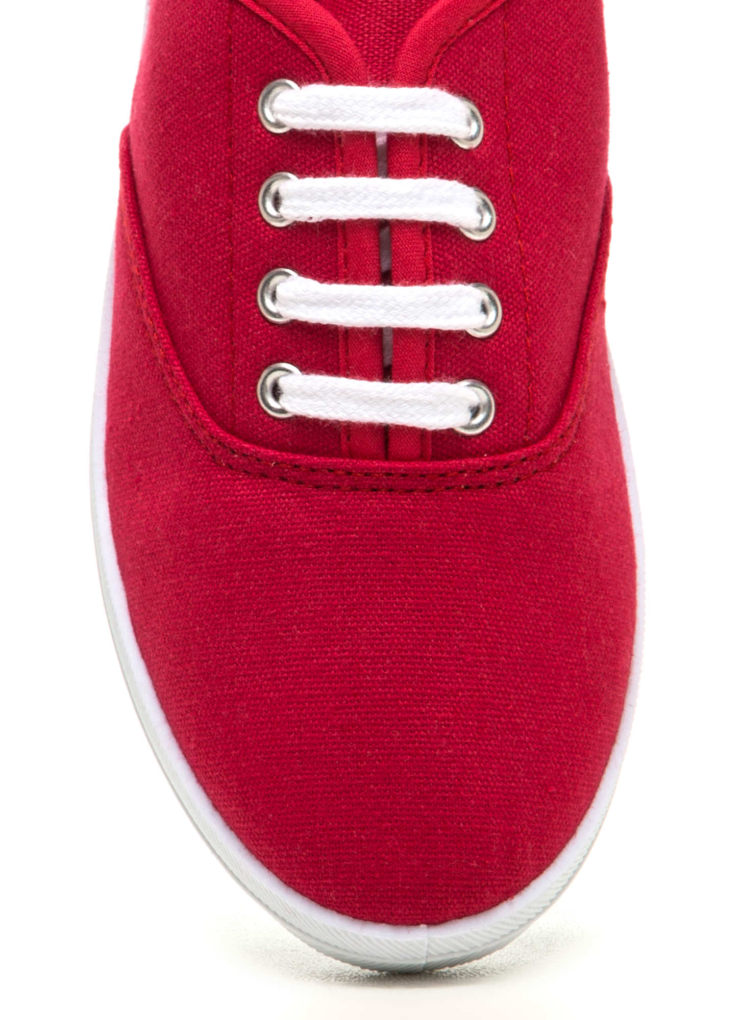 Sneaks Attack Canvas Sneakers RED