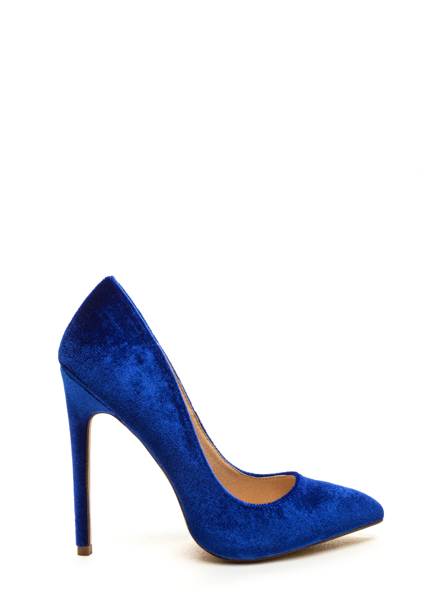 Bright Blue High Heels