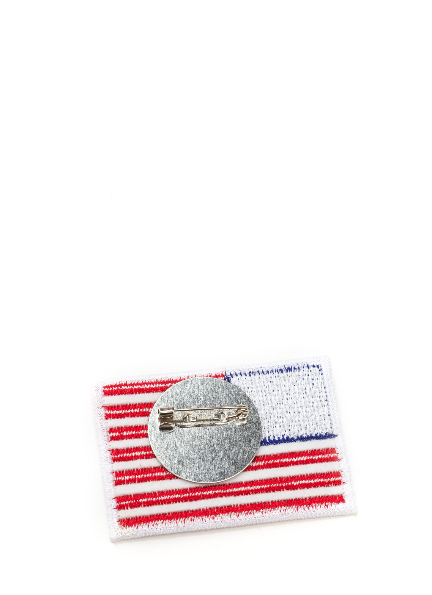 Patriot Act American Flag Patch Pin REDNAVY