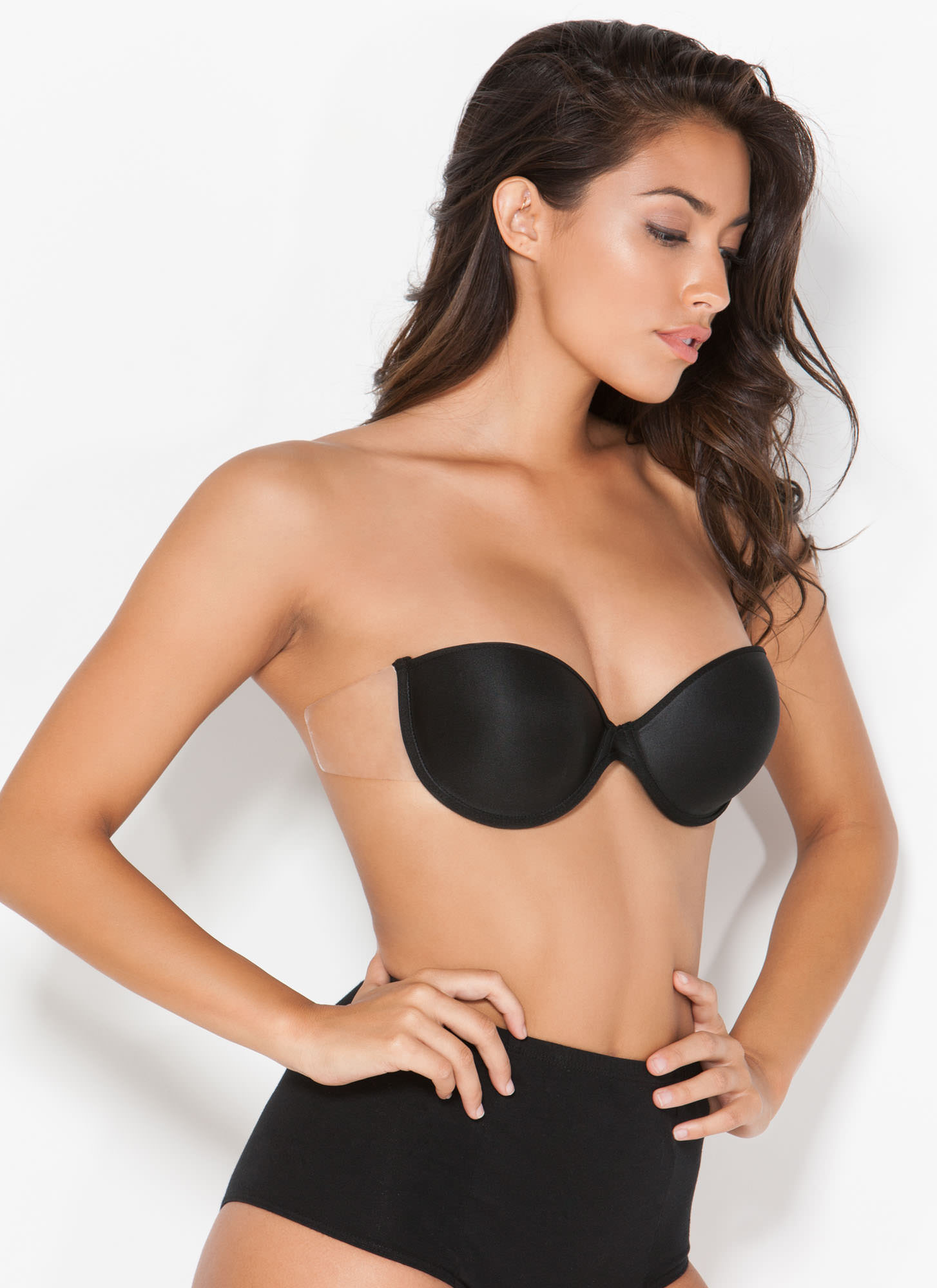 Supporting Act Backless 'N Strapless Bra BLACK (Final Sale)
