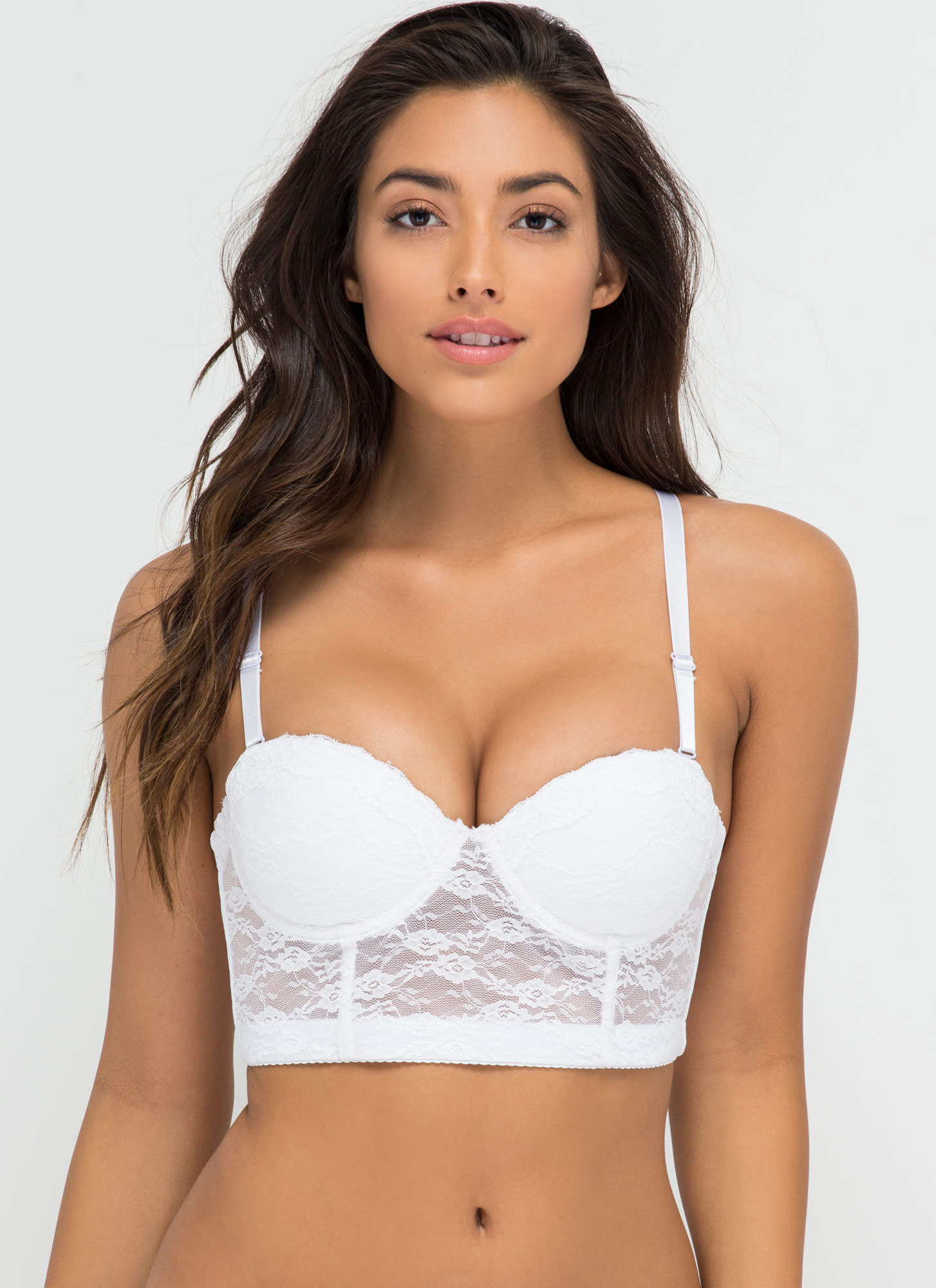 Bedroom Eyes Balconet Bra WHITE (Final Sale)