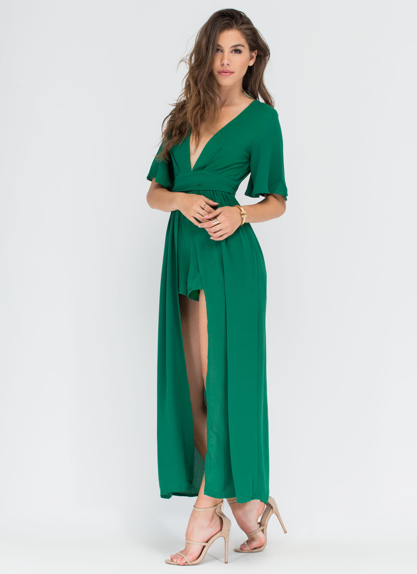 Enchantment Spell Plunging Maxi GREEN
