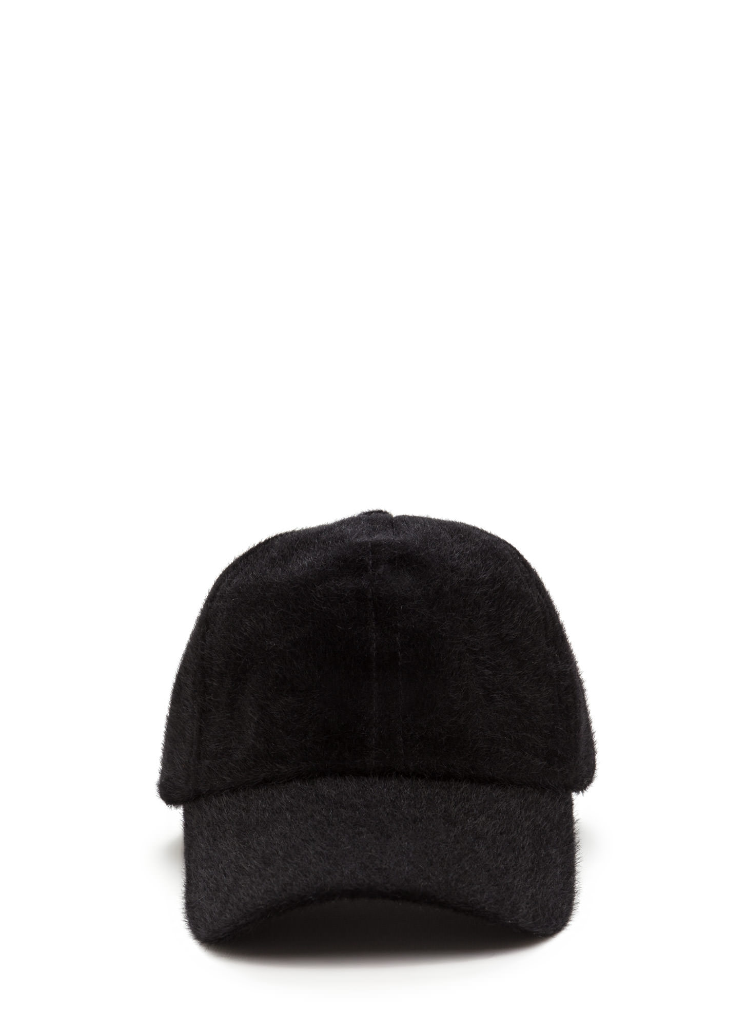 Keep Your Cool Faux Calf Hair Cap BLACK