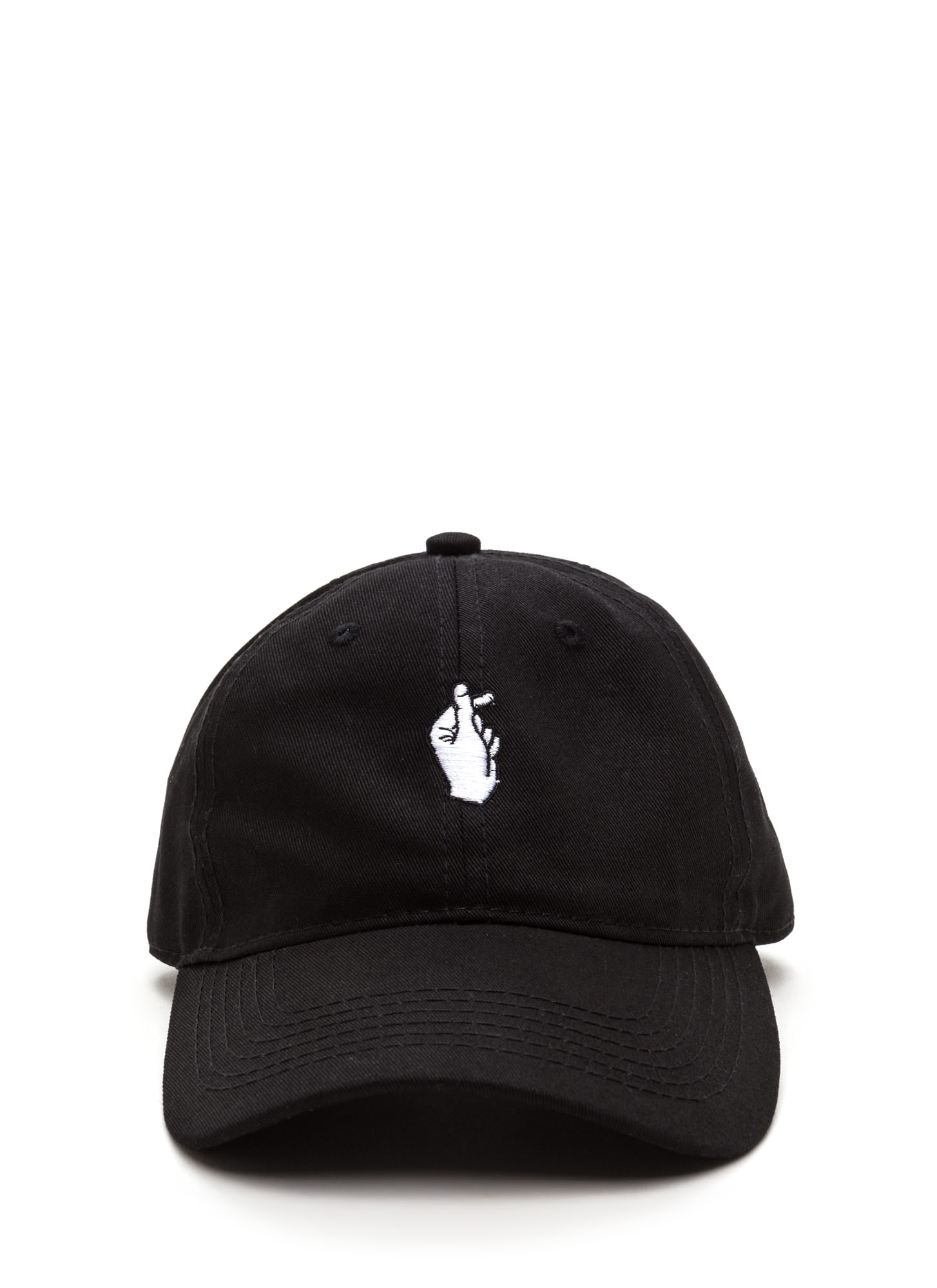 Snap Decisions Embroidered Cap BLACK