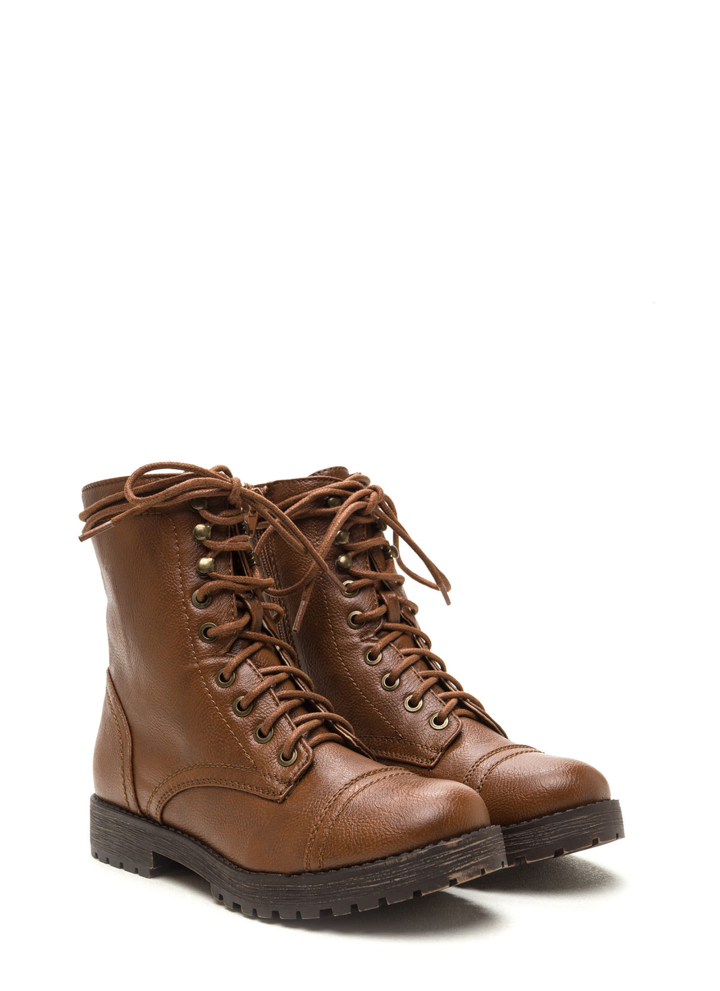 Combat Operations Lace-Up Boots CHESTNUT
