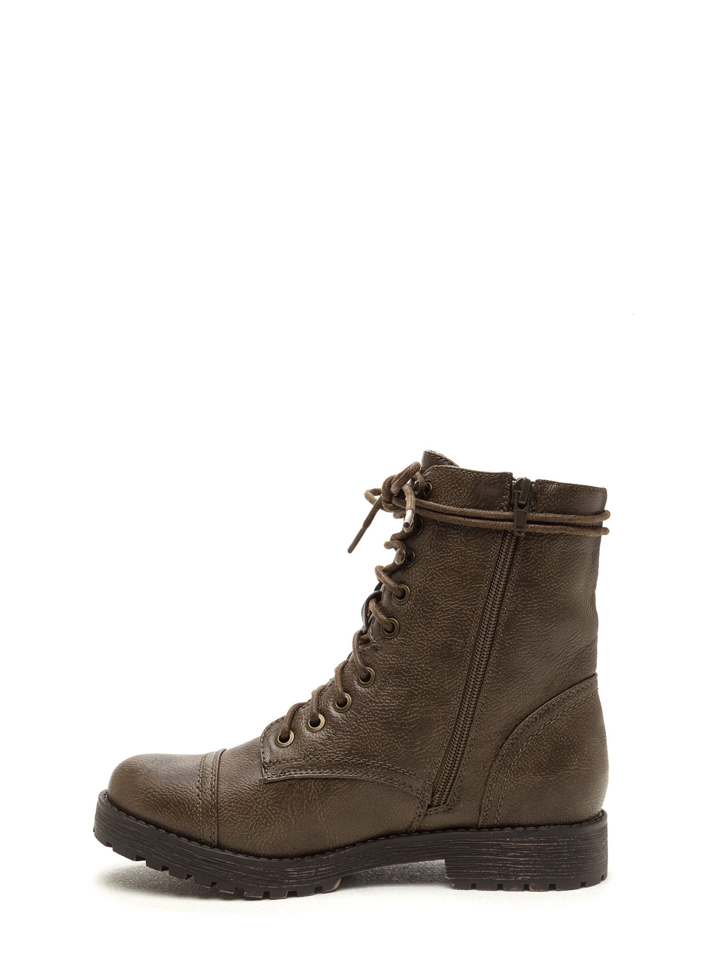 Combat Operations Lace-Up Boots OLIVE