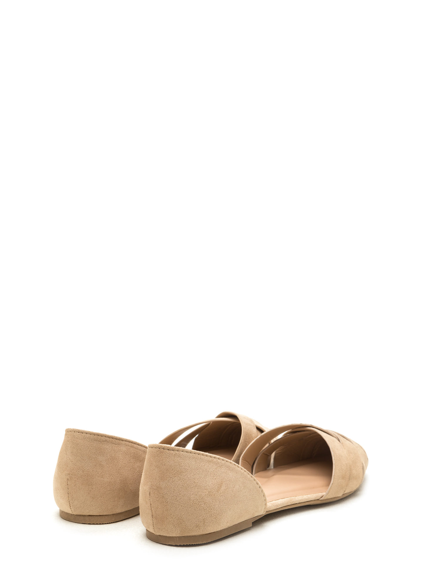 Better Be-Weave It D'Orsay Flats NATURAL