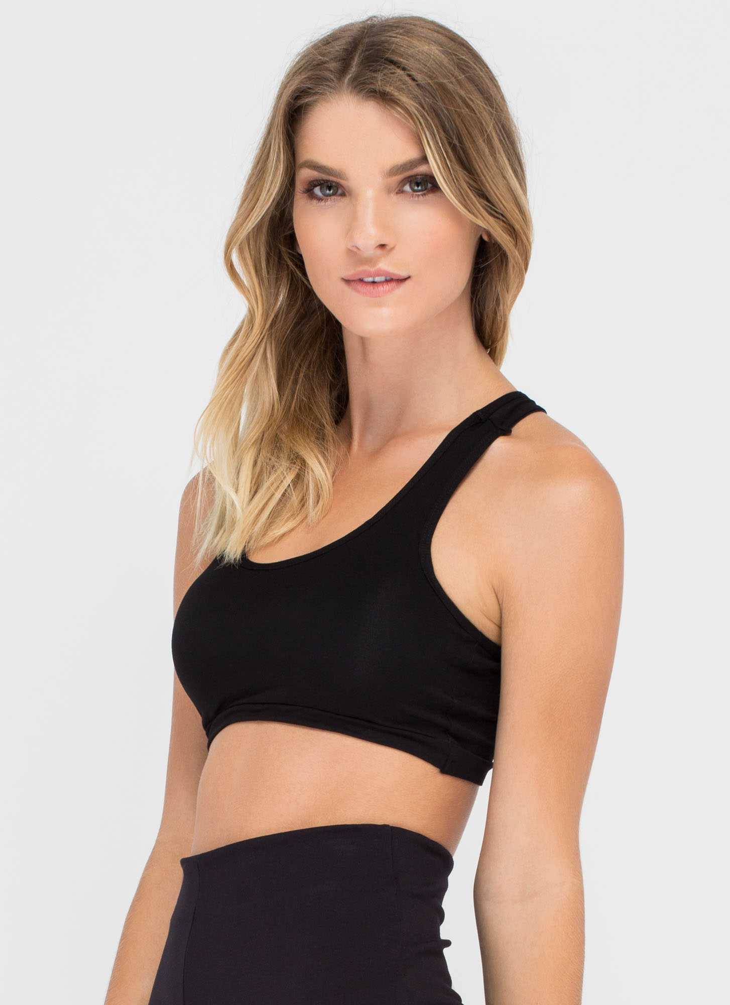 Six Education Caged Back Bralette BLACK (Final Sale)