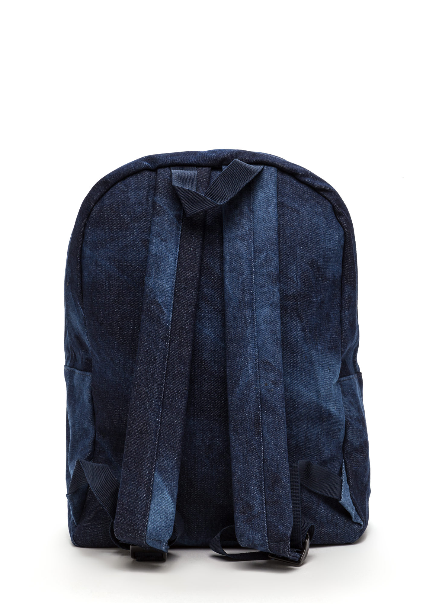 Mix 'N Patch Denim Backpack DKBLUE