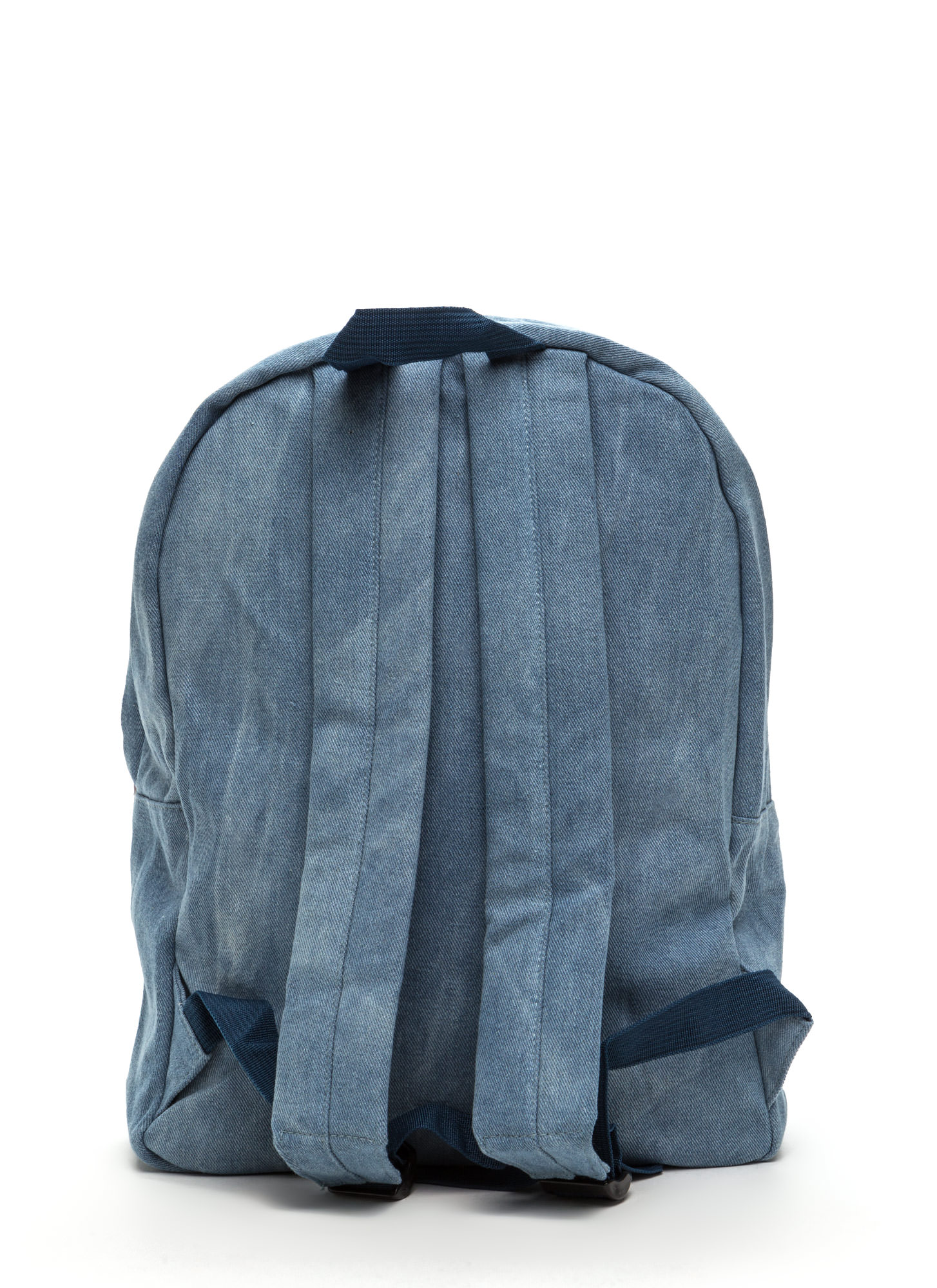 Mix 'N Patch Denim Backpack LTBLUE
