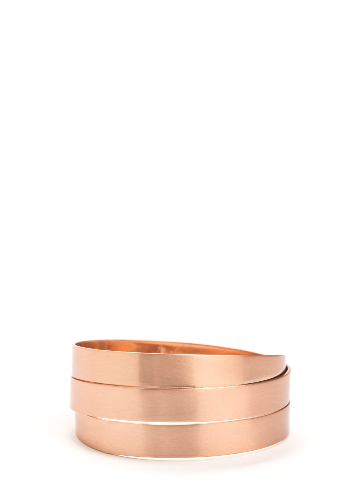 Band Together Layered Bracelet MROSEGOLD