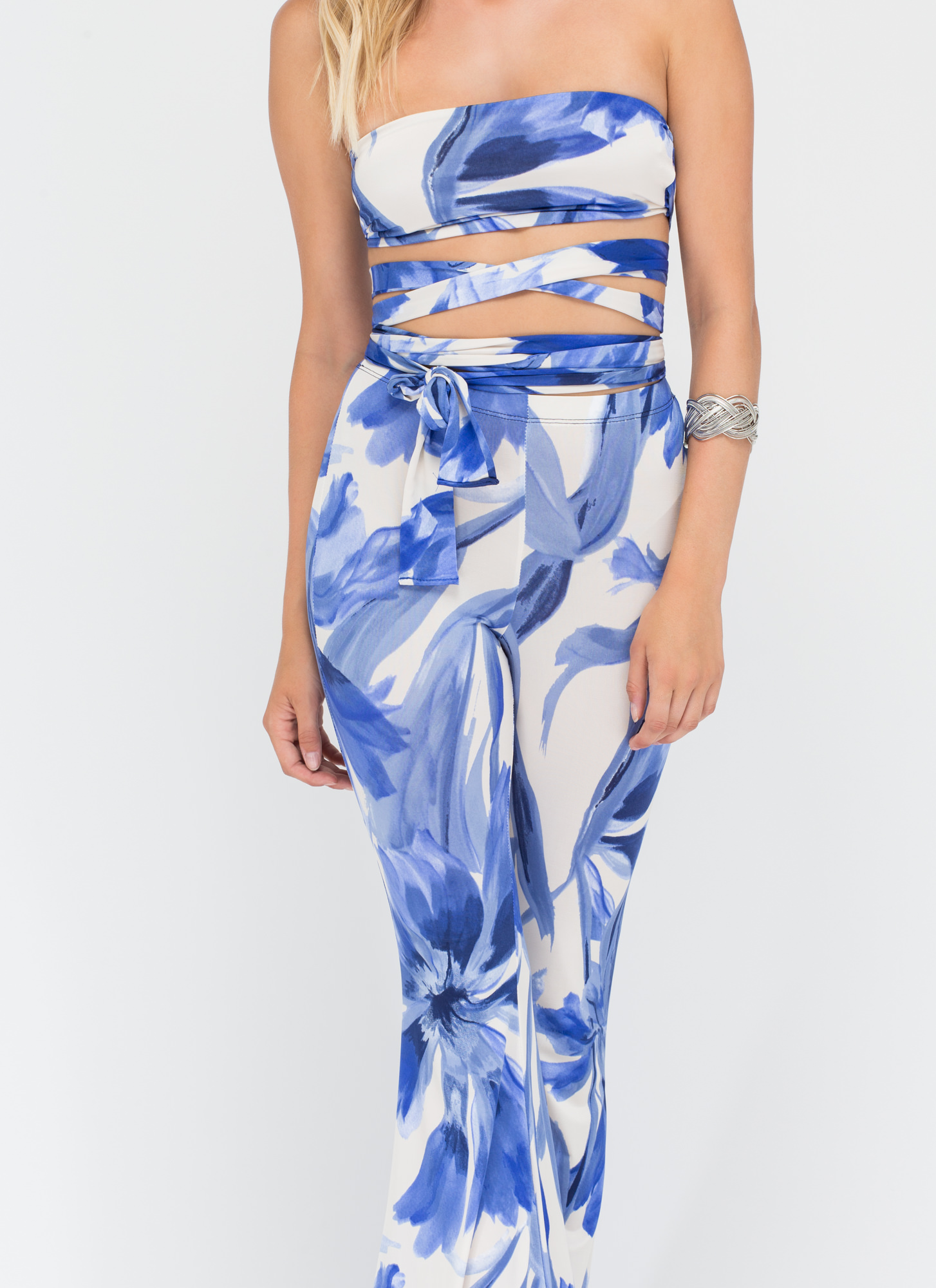 Made In Paradise Printed Two-Piece Set WHITE