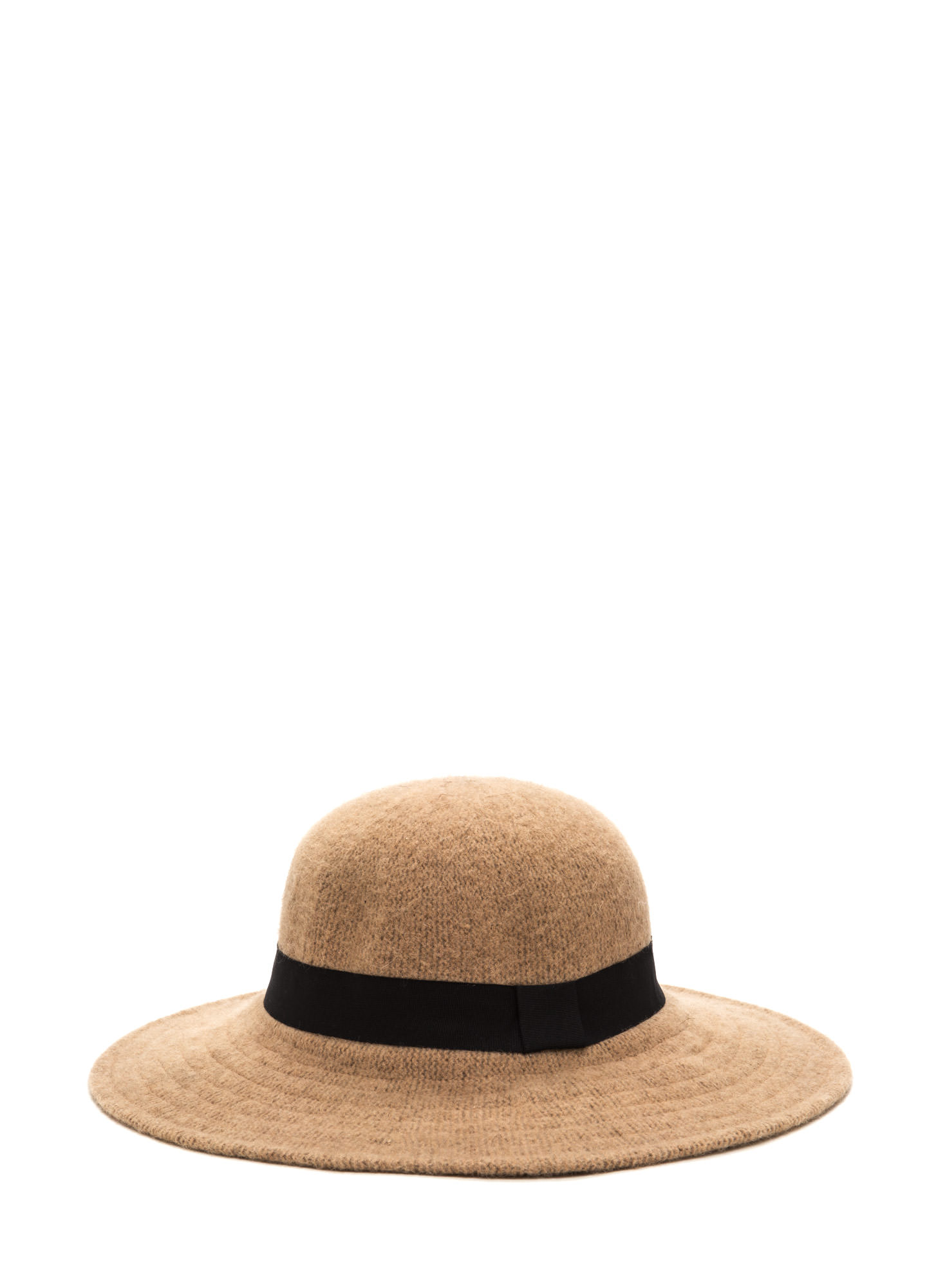 Park Slope Trip Wide Brim Wool Hat BEIGE