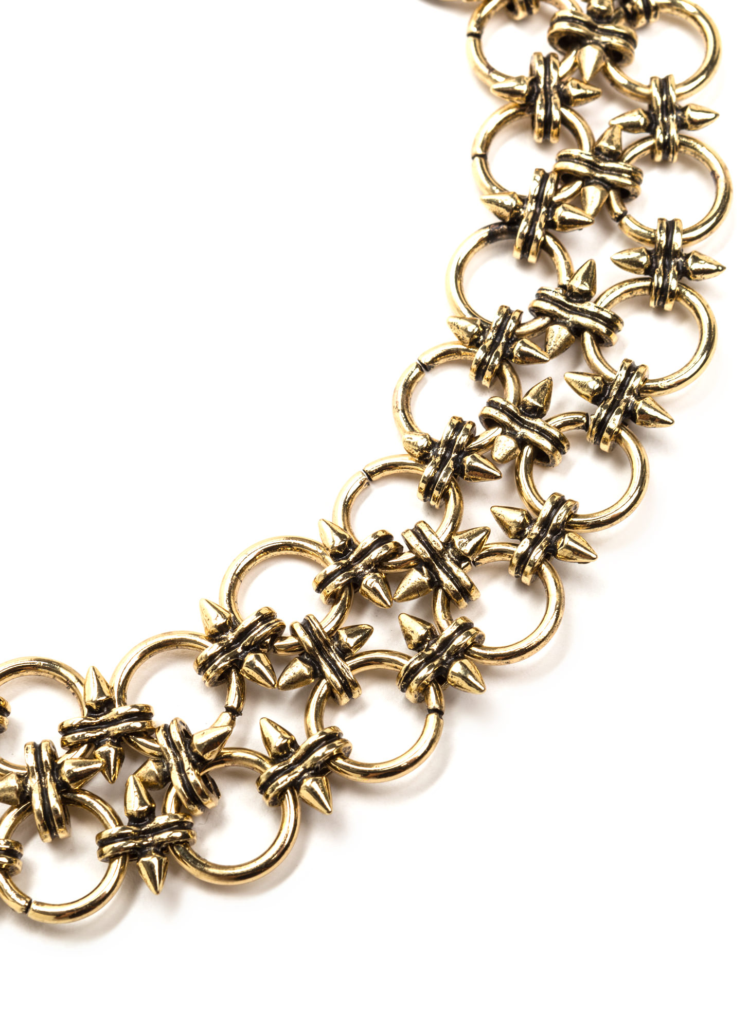 Heavy Metal Chain Choker DKGOLD