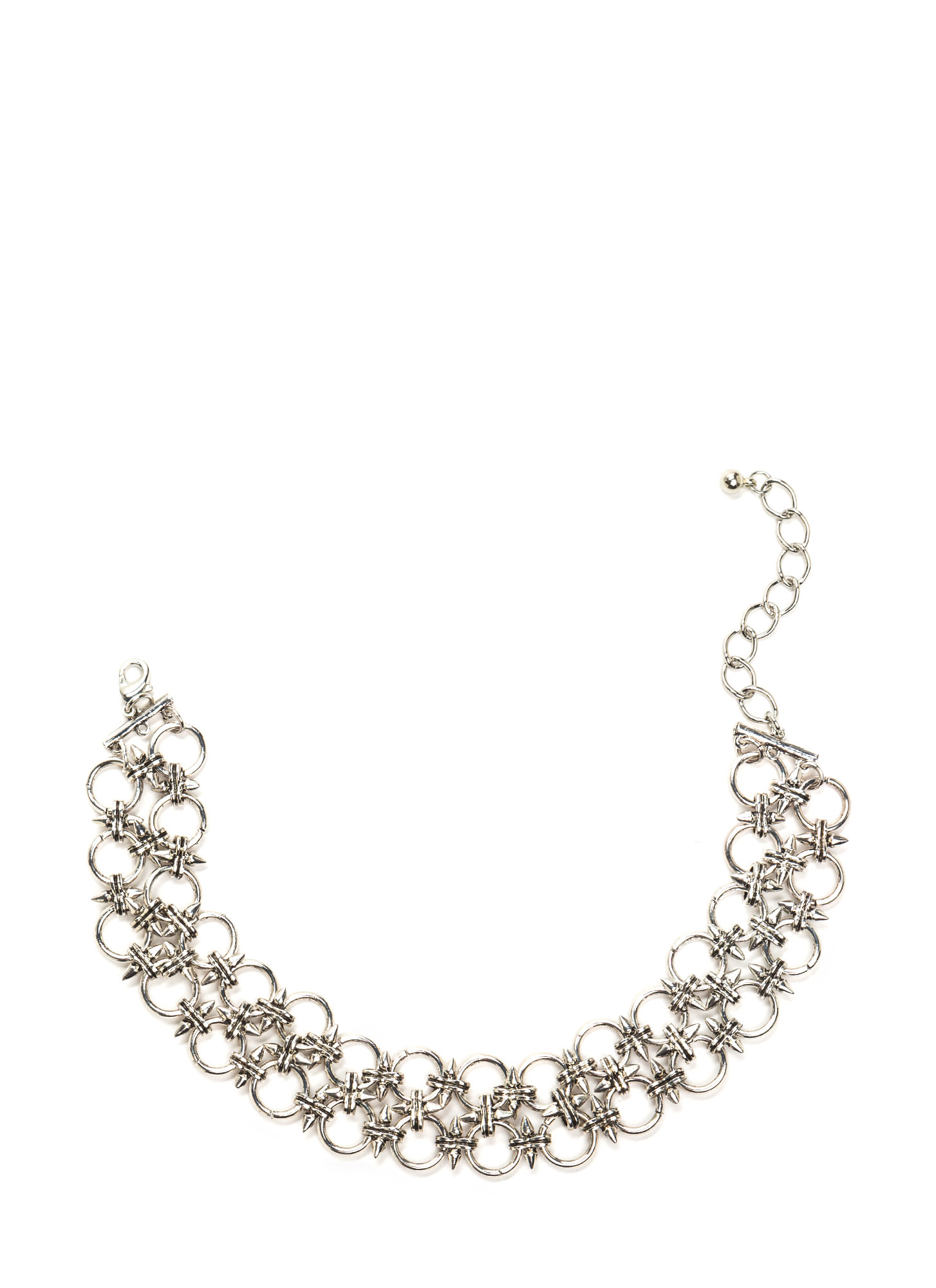 Heavy Metal Chain Choker DKSILVER