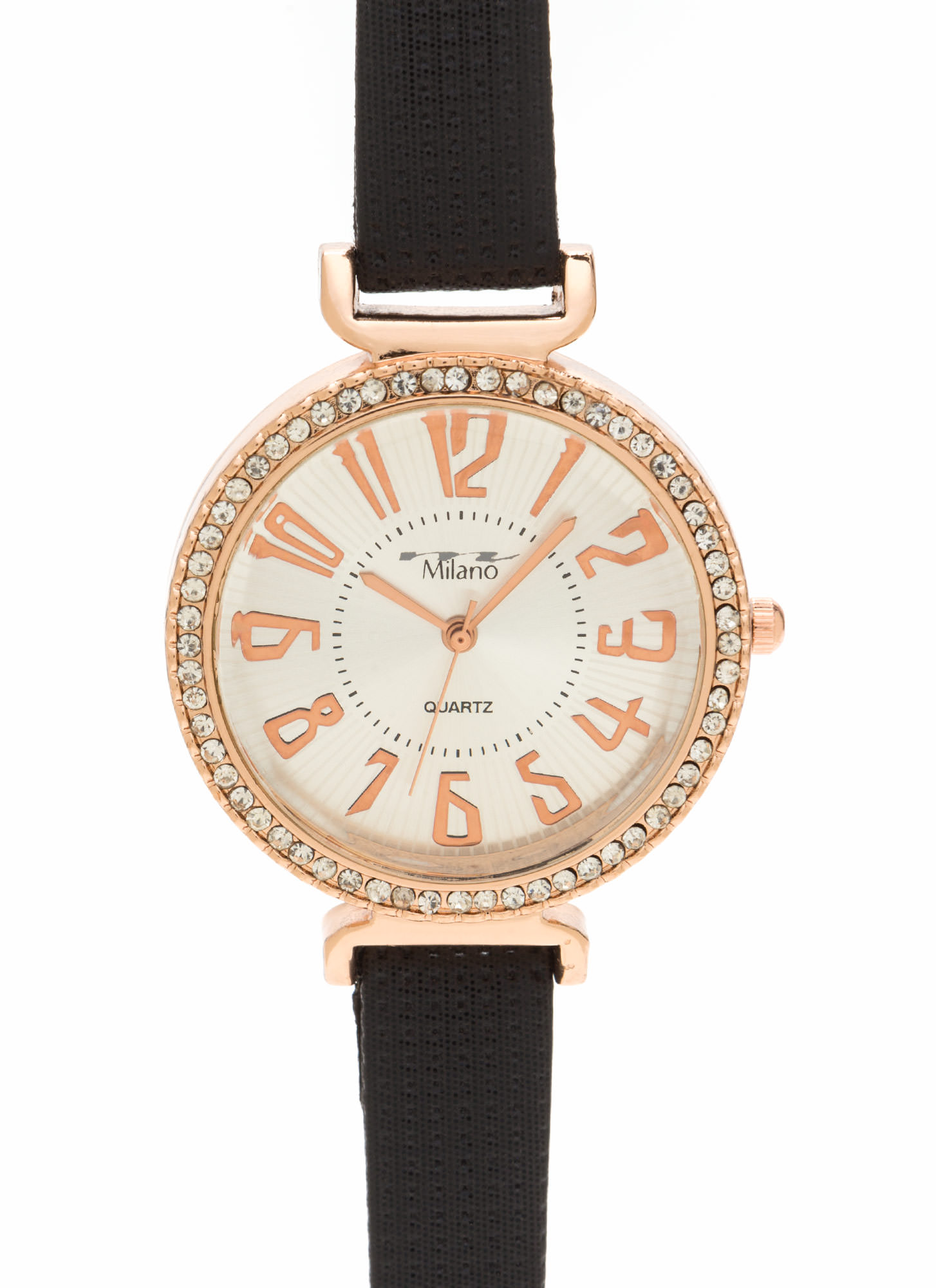 Shine Of The Time Jeweled Watch BLACKGOLD