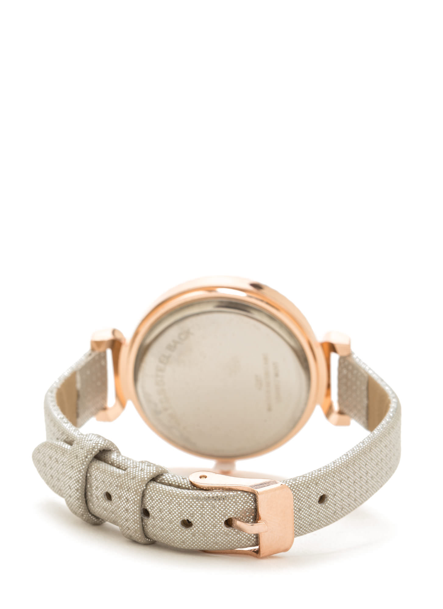 Shine Of The Time Jeweled Watch SILVERGOLD