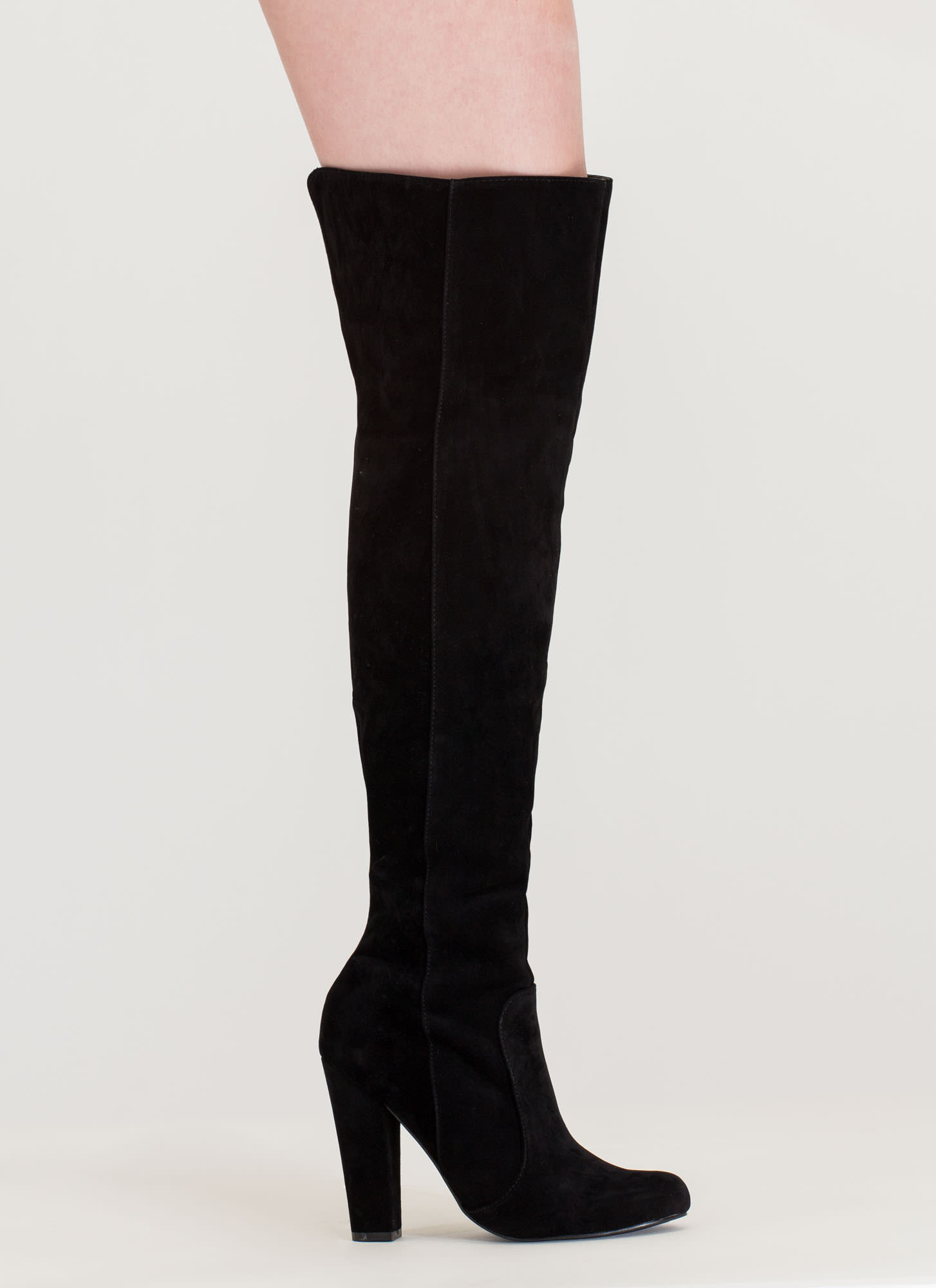 Walking Tall Over-The-Knee Boots BLACK