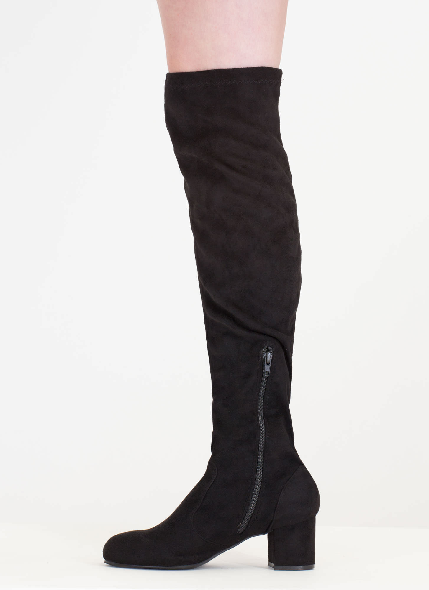 Thigh high boots are over the knee boots that can switch up your outfit instantly. They are a closet gem as they can range looks from skinny jeans, midi skirts, or long sleeved sweater fbcpmhoe.cf them with a skirt or a dress for that sexy snip of skin instead of wearing stockings.