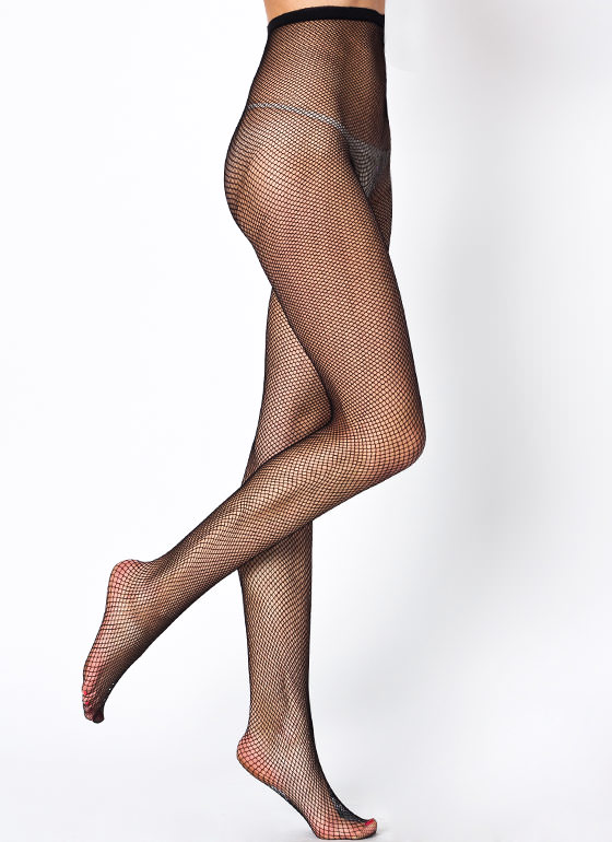 Sheer Investment Fishnet Tights BLACK (Final Sale)