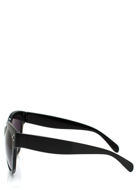 Oversized Sunglasses BLACK