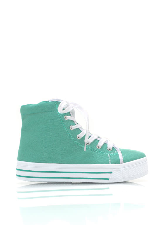 Canvas Sneakers MINT