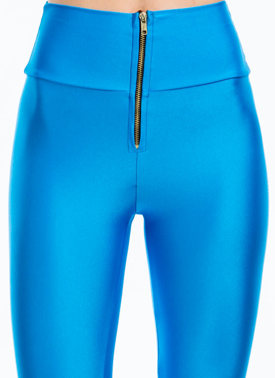 High-Waisted Leggings TURQUOISE