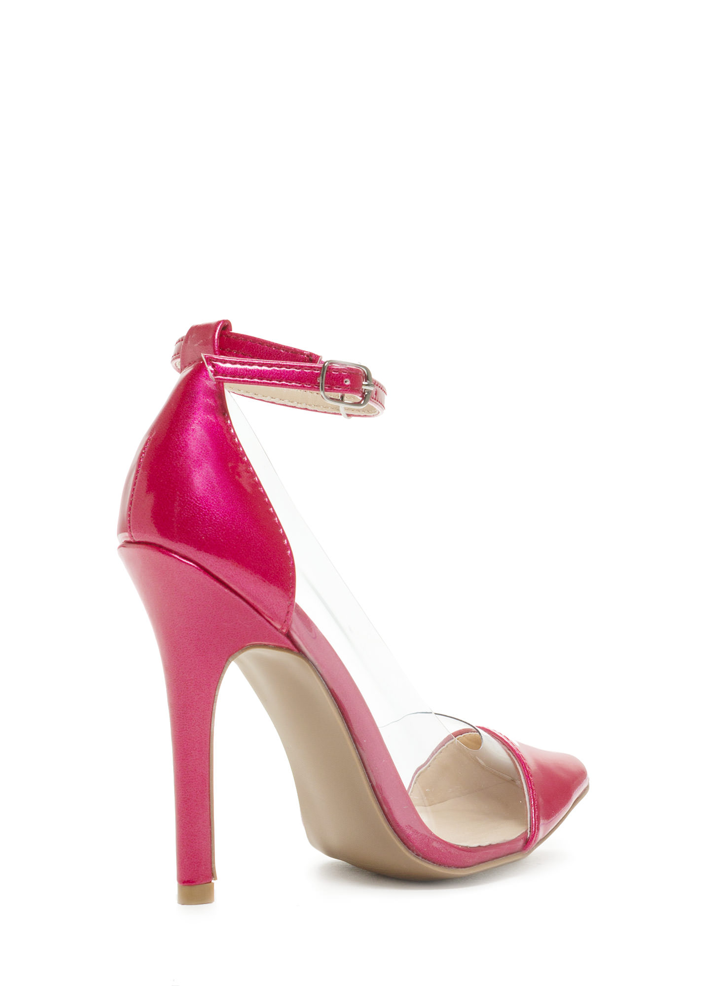 Cap Toe Pumps FUCHSIA