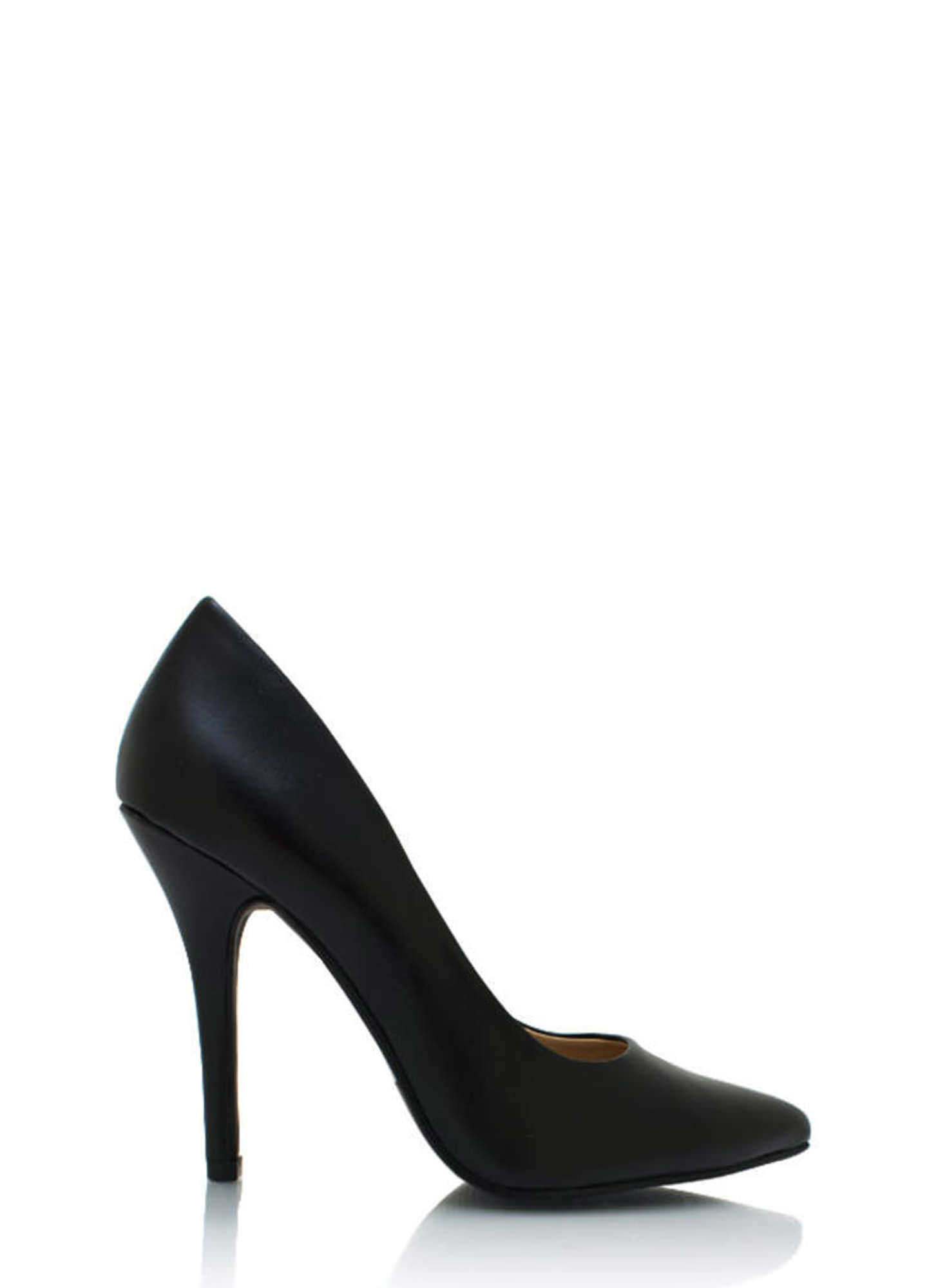 Good To Be Basic Pointy Toe Pumps BLACK
