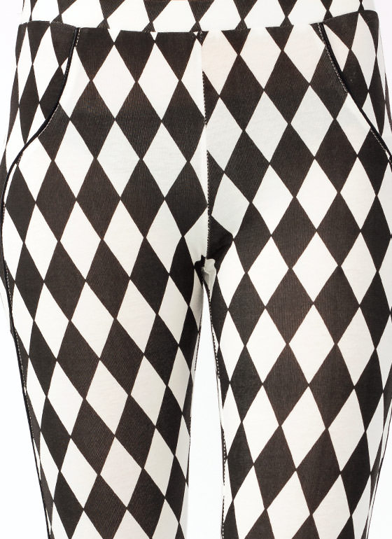 Harlequin Leggings BLACKIVORY