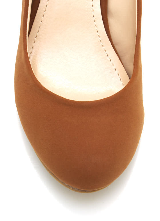 Wedge Pumps CHESTNUT