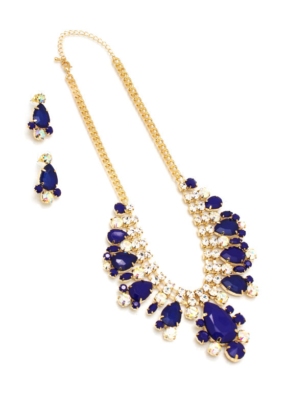 Jeweled Necklace Set GOLDROYAL