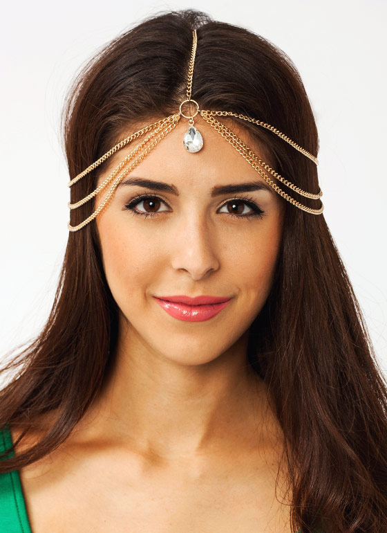 Layered Jewel Headpiece GOLD