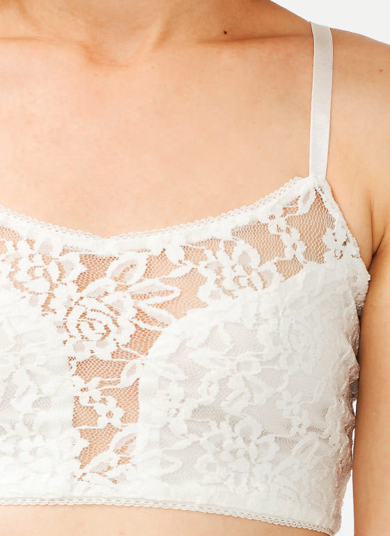 Lace Bralette OFFWHITE